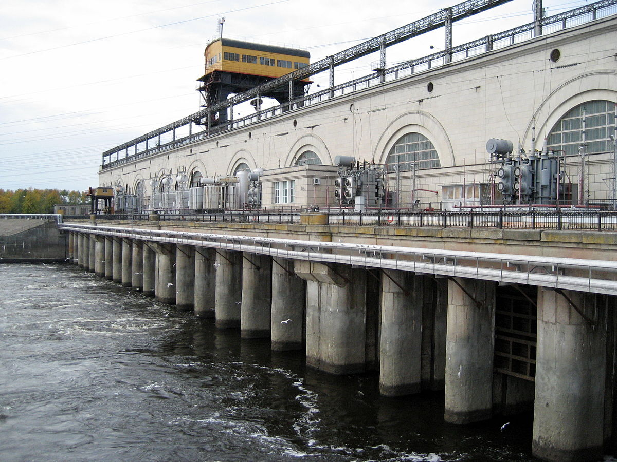 костромское водохранилище схема проезда