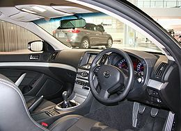 NISSAN SKYLINE COUPE CV36 interior.jpg