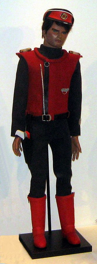 Captain Scarlet (character) - Captain Scarlet puppet at the National Media Museum