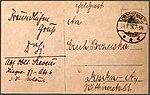 NPG 6358 Oberleutnant Dr. Sieverts, Phot. Bruno Wiehr, Dresden, Adressseite.jpg