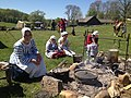 NT 2014 Frontier Muster and Trade Faire (14166290000) cooking fire.jpg