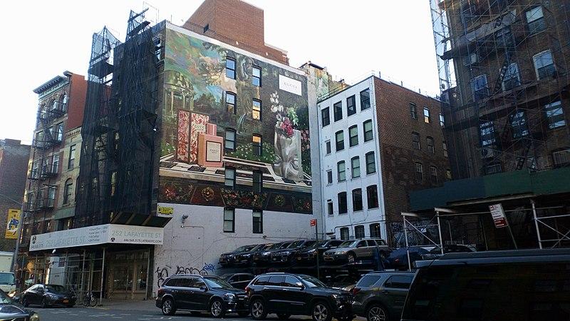 Arte de rua em NY
