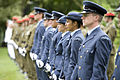 NZDF personnel at the Chief of Defence Force Change of Command Parade at Government House, Auckland in 2011.jpg
