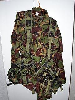 New Zealand disruptive pattern material camouflage pattern
