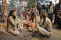 Naga Sadhus - Gangasagar Fair Transit Camp - Kolkata 2013-01-12 2820.JPG