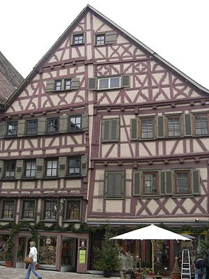 Nagold - Notable half-timbered house in Nagold.