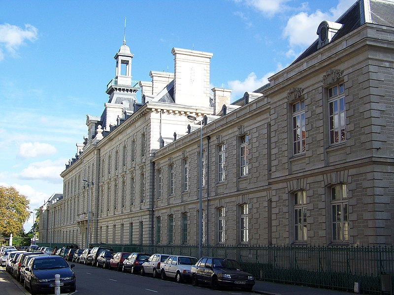 Fichier:Nantes - lycée Clemenceau.jpg