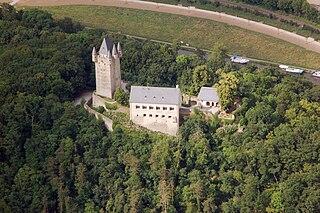 Nassau Castle castle in Nassau, Rhineland-Palatinate, Germany
