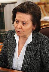 Gouverneurin Natalja Komarowa