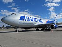 N919CA - B744 - National Airlines