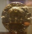 National gallery in washington d.c., pisanello, medaglia di leonello d'este 1441-1443 verso.JPG