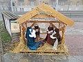 Nativity scene of Budahegyvidéki Lutheran Church. - Budapest Dist. XII.JPG