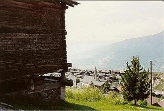 Nax - Nax village