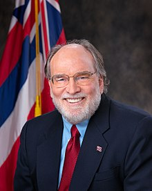 Portrait officiel de Neil Abercrombie.