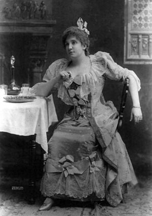 British National Opera Company - Nellie Melba, who appeared with the company at Covent Garden