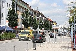 Neu-Ulm, die Augsburger Straße