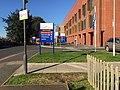 New signage, Stratford-upon-Avon Hospital (geograph 5655040).jpg