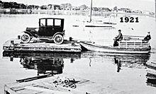 Newport Beach Balboa Island Ferry In 1921