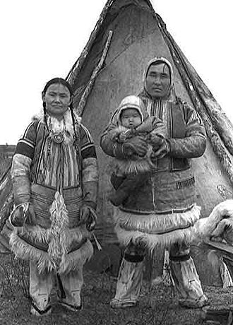 Uralic peoples - Nganasans, 1927