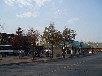 Niagara Falls Transit Terminal - Image: Niagara falls transit terminal