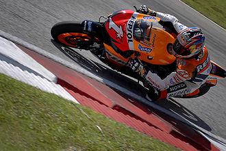 Honda RC212V - Nicky Hayden testing the RC212V.