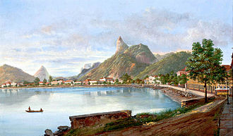 "Botafogo - ""Botafogo Bay"" (1869), by Nicolao Antonio Facchinetti. Collection of the São Paulo Museum of Art."