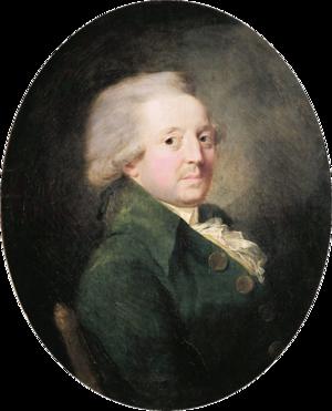 Marquis de Condorcet - Portrait of Marquis of Condorcet by Jean-Baptiste Greuze (ca. 1780-90)