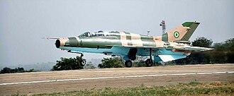 Chengdu J-7 - A Nigerian F-7NI.