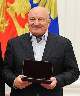 На церемонии вручения Государственных наград и званий в Кремле 28 мая 2014 года