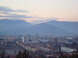 Nikšić - Image: Niksic Pogled sa Trebjese