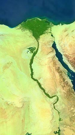 Valle del Nilo.