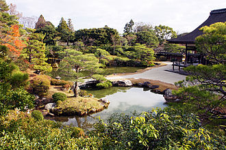 Ninna-ji - Shinden's North Garden