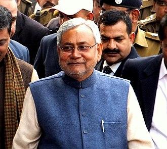 Bihar Legislative Assembly election, 2015 - Image: Nitish Kumar 1