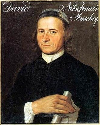 David Nitschmann der Bischof - David Nitschmann the Bishop