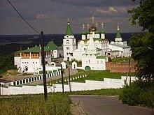 Благовещенский монастырь был основан в XIII веке, вскоре после основания Нижнего Новгорода.