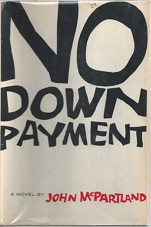"John McPartland - Cover of John McPartland's ""No Down Payment""(1957)"