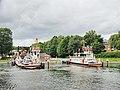 Nobisfähre Nord-Ostsee-Kanal Fähranleger Schacht-Audorf 03.JPG