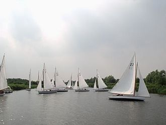 The Broads - Yachts on the Norfolk Broads