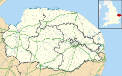 Bunwell is located in Norfolk