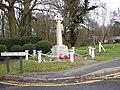 Normandy village war memorial 2007.jpg