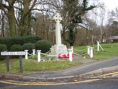 Normandy village war memorial 2007.jpg
