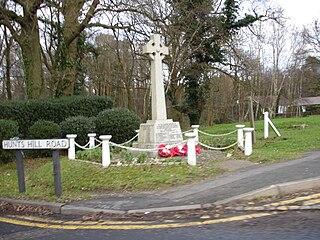 Normandy, Surrey village and civil parish in Surrey, England