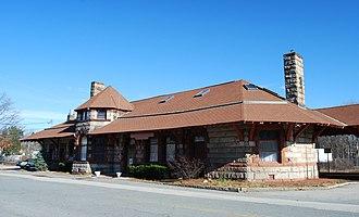 Bradford Gilbert - Image: North Abington Depot