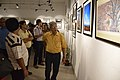 Nrisingha Prasad Bhaduri Visits Group Exhibition - PAD - Kolkata 2016-07-29 5397.JPG