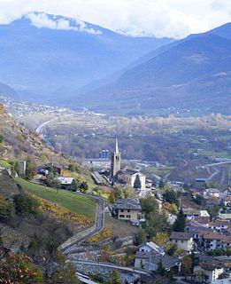 Nus Comune in Aosta Valley, Italy