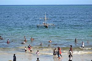 Nyali Beach from the Reef Hotel during high tide in Mombasa, Kenya 35.jpg