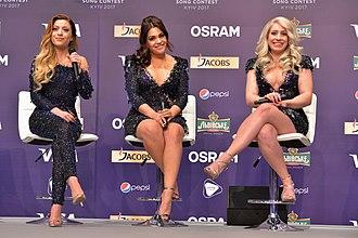O'G3NE - O'G3NE during the Eurovision Song Contest 2017.