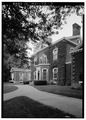OBLIQUE VIEW OF HOUSE FROM WEST - Ashland, Richmond Road, 2 miles Southeast of Lexington, Lexington, Fayette County, KY HABS KY,34-LEX.V,3-3.tif