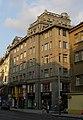 Obchodní dům - polyfunkční objekt U Nováků, U Štajgrů (Nové Město), Praha 1, Vodičkova 28, 30, Nové Město.JPG