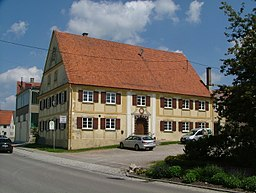 Oberroth Gasthof frühklassizistisch